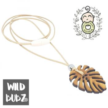 MONSTERA | stainless steel necklace | WILD BUBZ®
