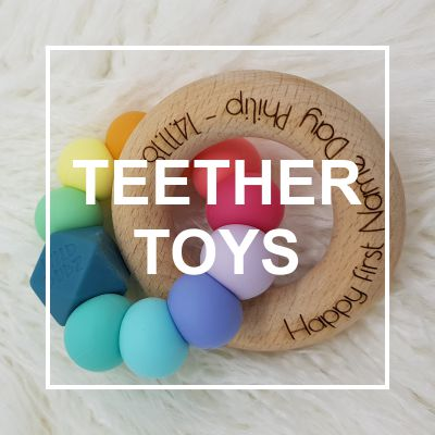 Custom Personalised Teether Toys